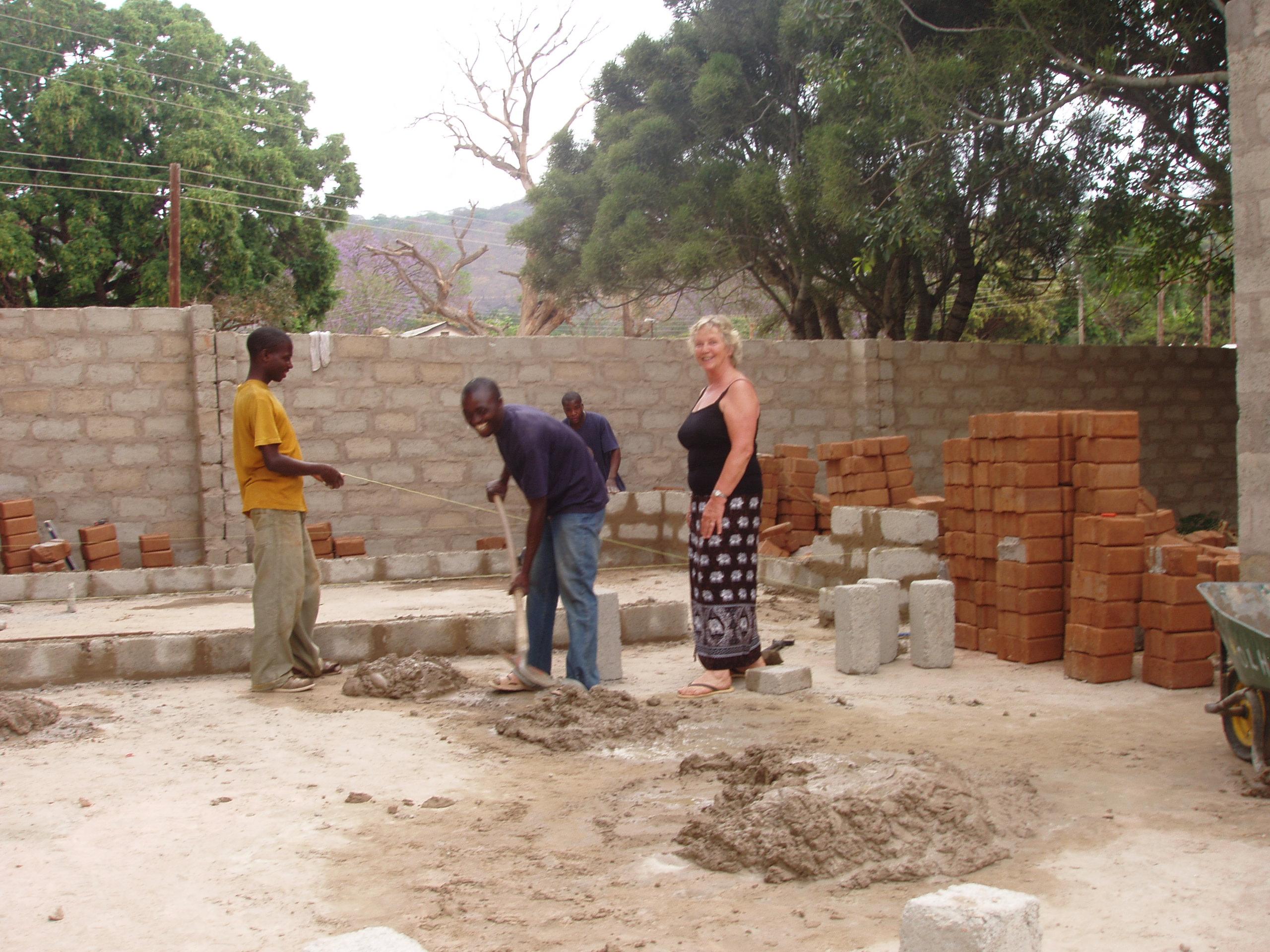 Nieuwe werkplaats bouwen