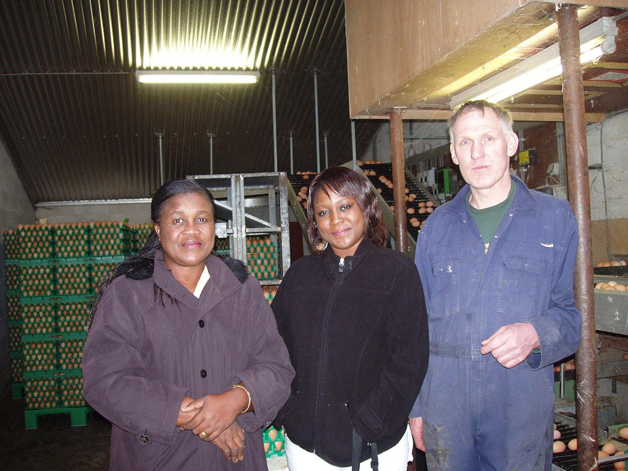 Bezoek aan Deldense kippenfarm